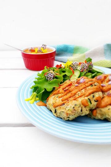 Vegane Glutenfreie Zucchini Bratlinge Ohne Oel Rezept 3 1