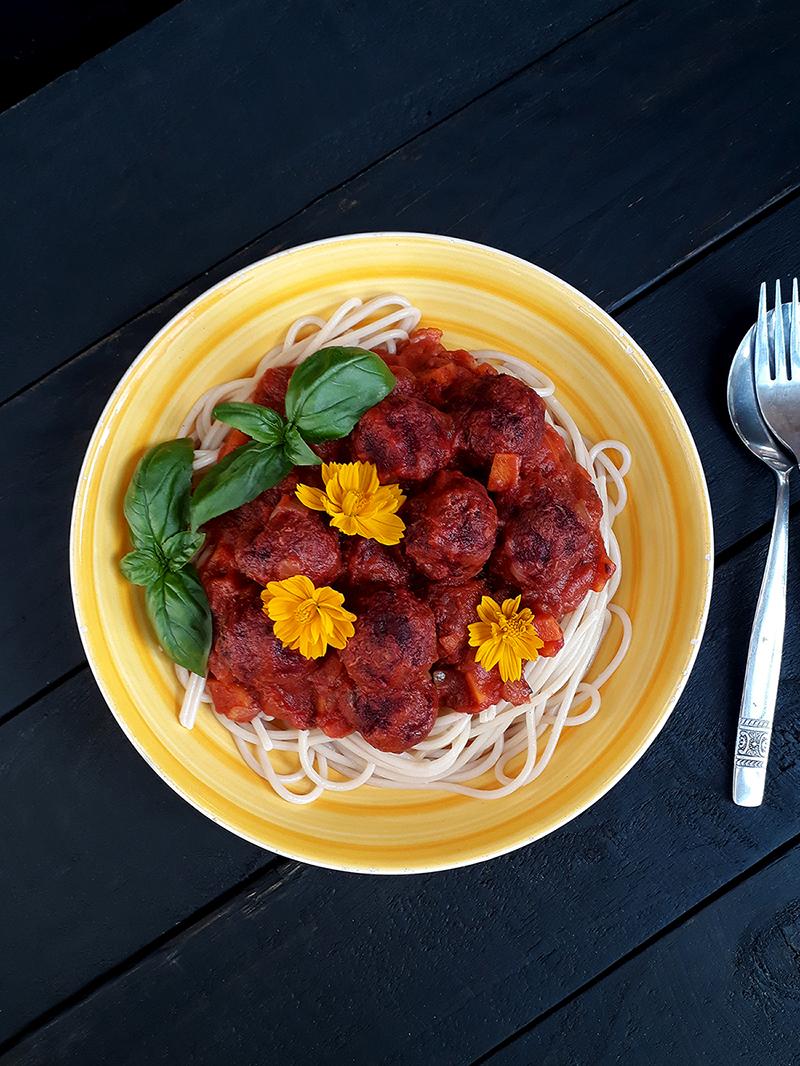 Vegan Gluten free Oil free No Meat Quinoa Balls Recipe 1