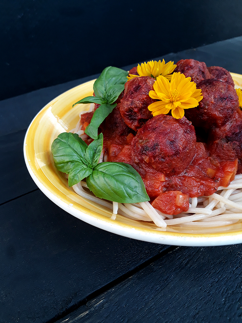 No Meat Quinoa Balls (Vegan, Gluten-free, Oil-free)