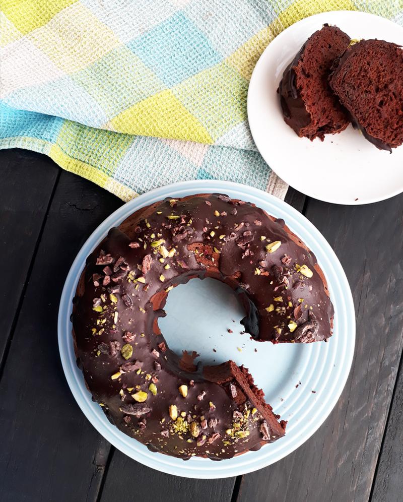 Veganer Glutenfreier Zucchini Schoko Kuchen Ohne Oel Ohne Haushaltszucker Rezept 3
