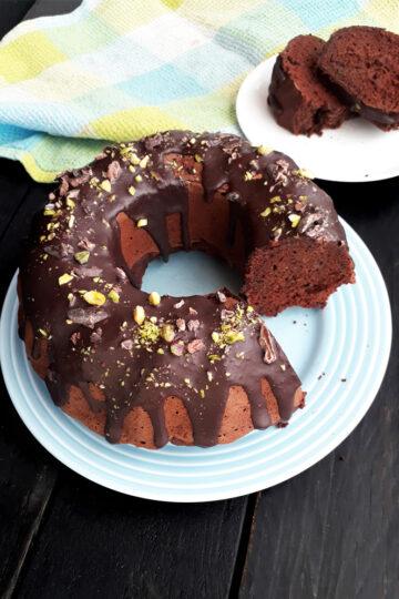 Veganer Glutenfreier Zucchini Schoko Kuchen Ohne Oel Ohne Haushaltszucker Rezept 4 1