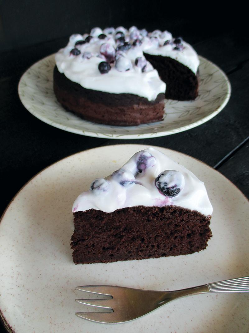 Veganer Glutenfreier Nuss Milch Mehl Schoko Kuchen Ohne Oel Rezept 1