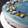 Vegan Gluten free No Bake Dreamy Blue Cake Fruit Sweetened Recipe 2 1
