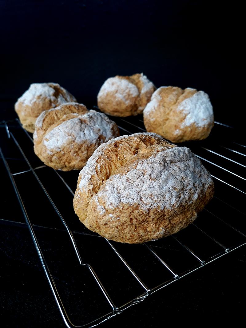 Vegane Glutenfreie Broetchen Ohne Oel Ohne Hefe Rezept 1