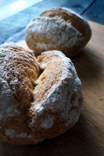 Vegane Glutenfreie Broetchen Ohne Oel Ohne Hefe Rezept 2 1