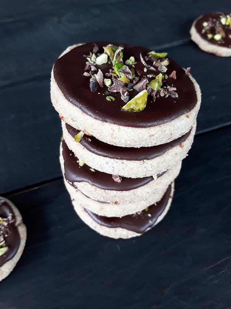 Vegan GF Schoko Cookies Rezept 11