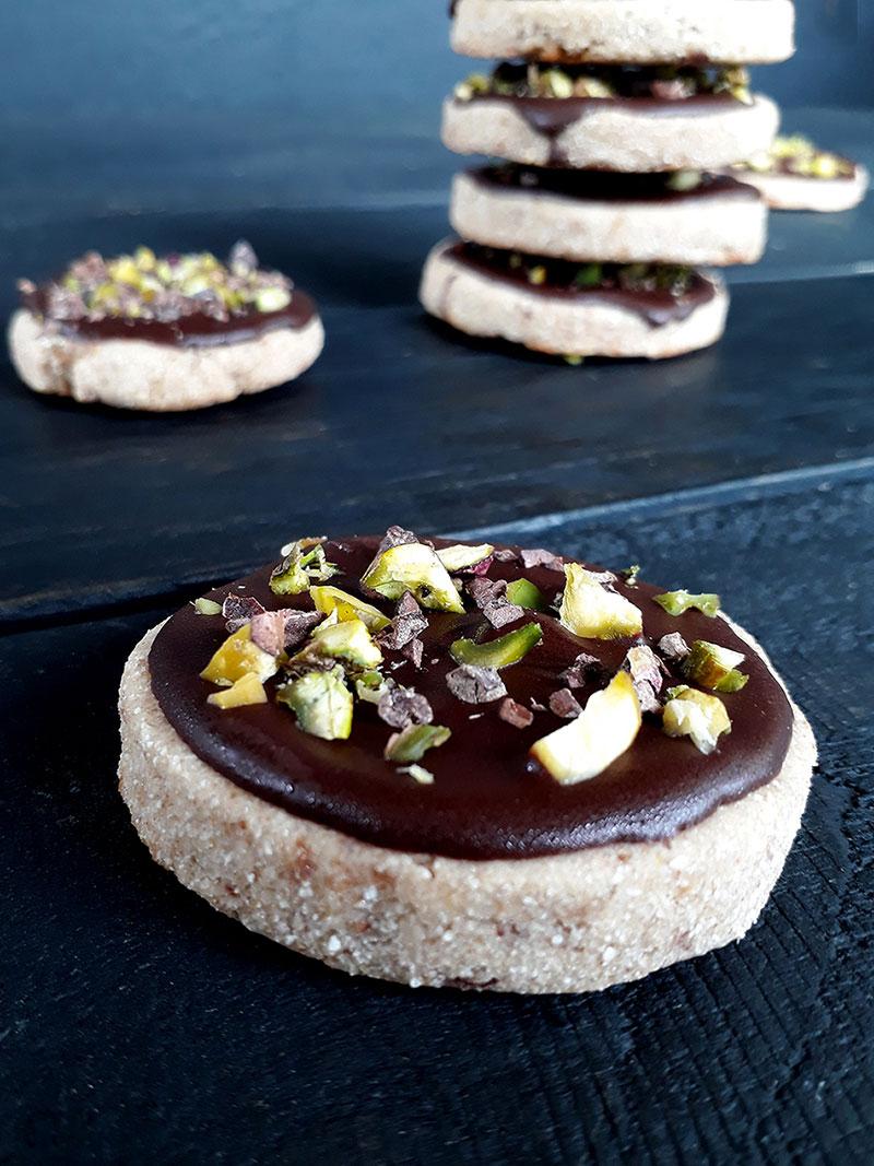 Vegan Gluten free Chocolate Cookies Fruit Sweetened 22