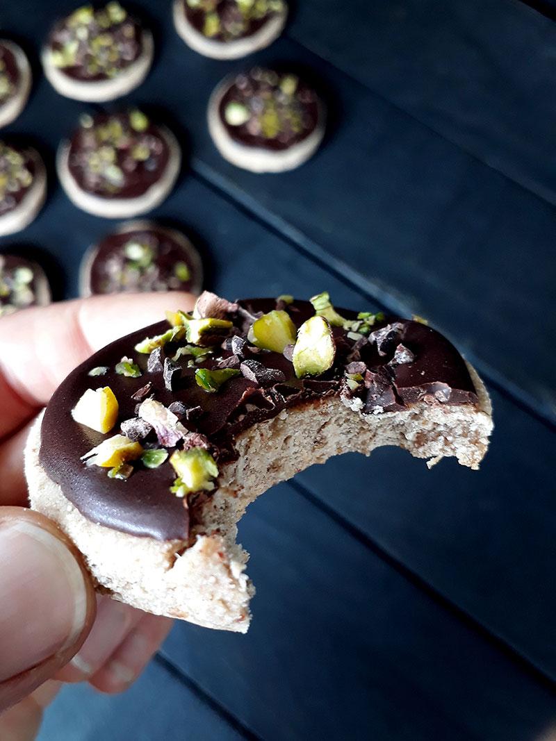 Vegan Gluten free Chocolate Cookies Fruit Sweetened 33