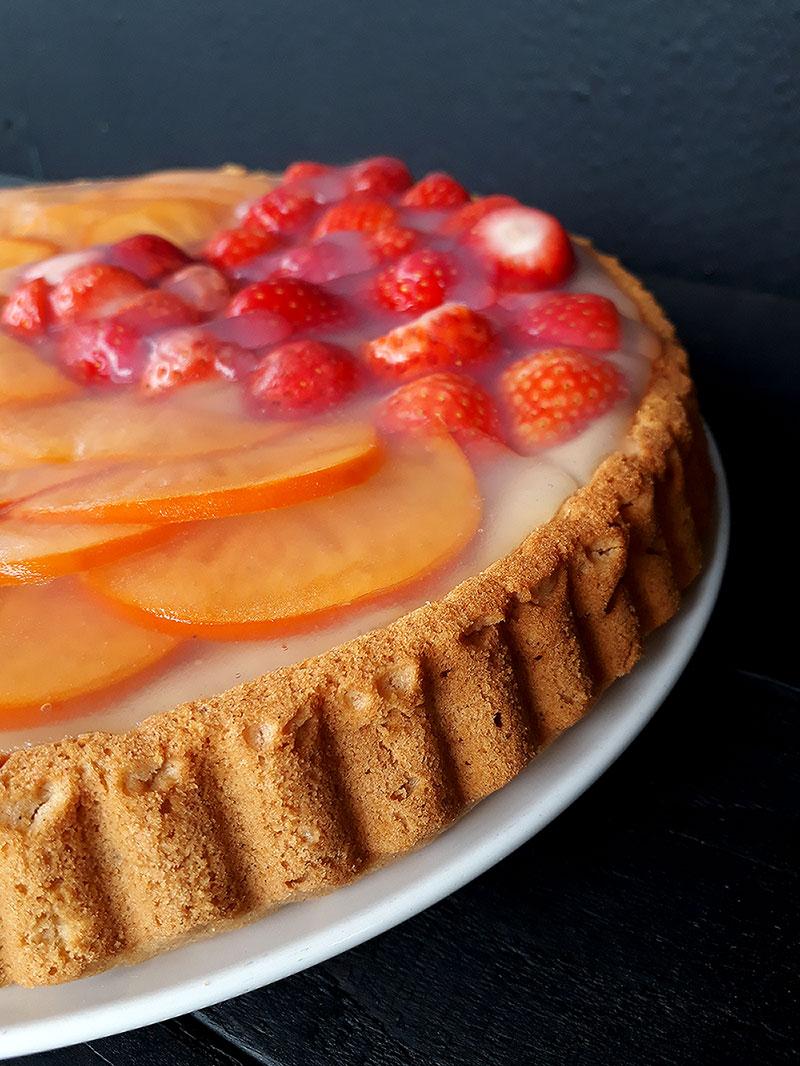 Vegan Gluten free Strawberry Cake Recipe