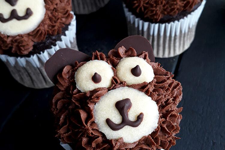 Vegan Glutenfreie Schoko Baren Cupcakes Rezept 3