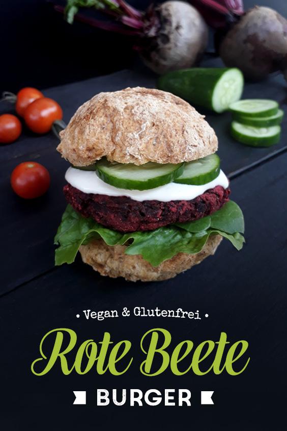 Rote Beete Bratlinge Vegan Glutenfrei Rezept