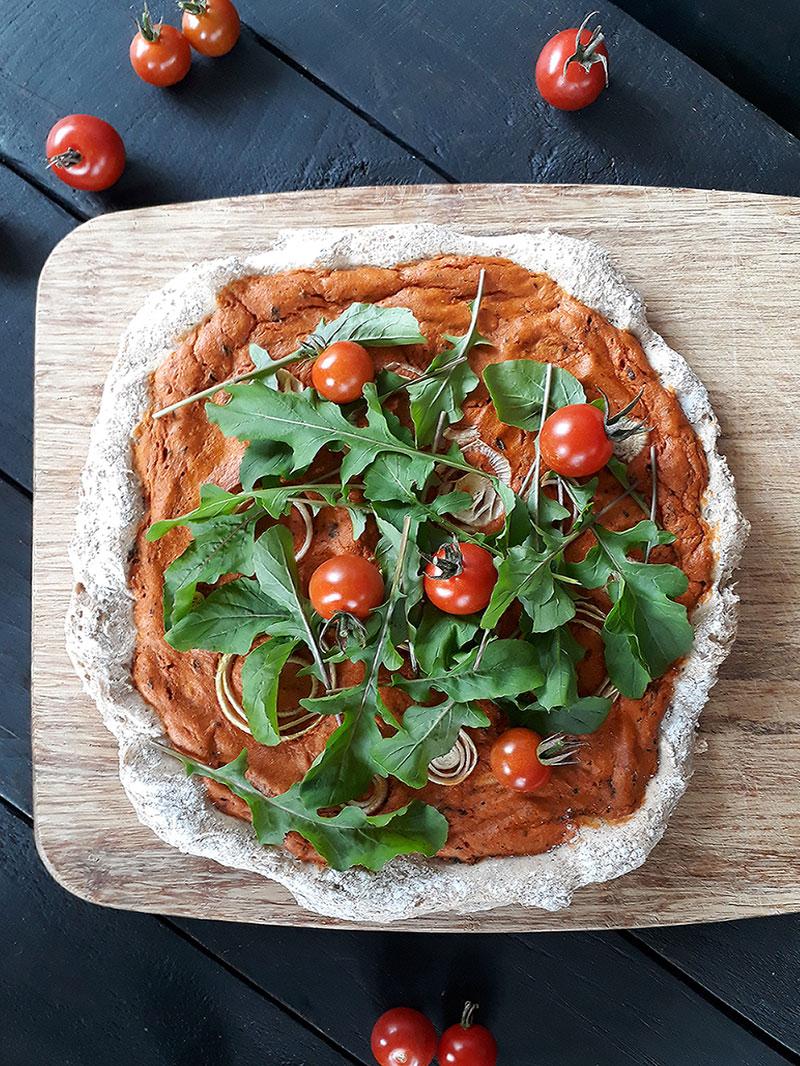 Rezept Vegane Glutenfreie Pizza Ohne Hefe