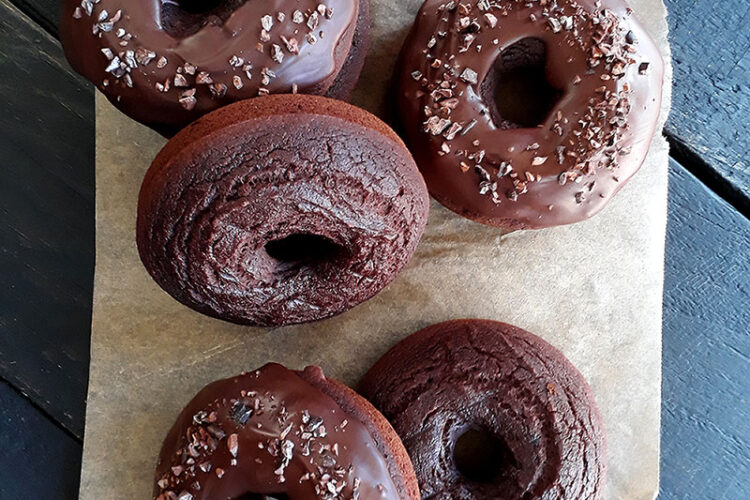 Vegane Glutenfreie Schoko Donuts Rezept