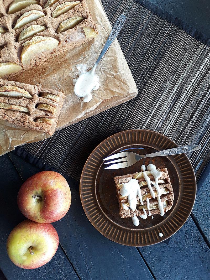 Einfacher Apfel Kuchen