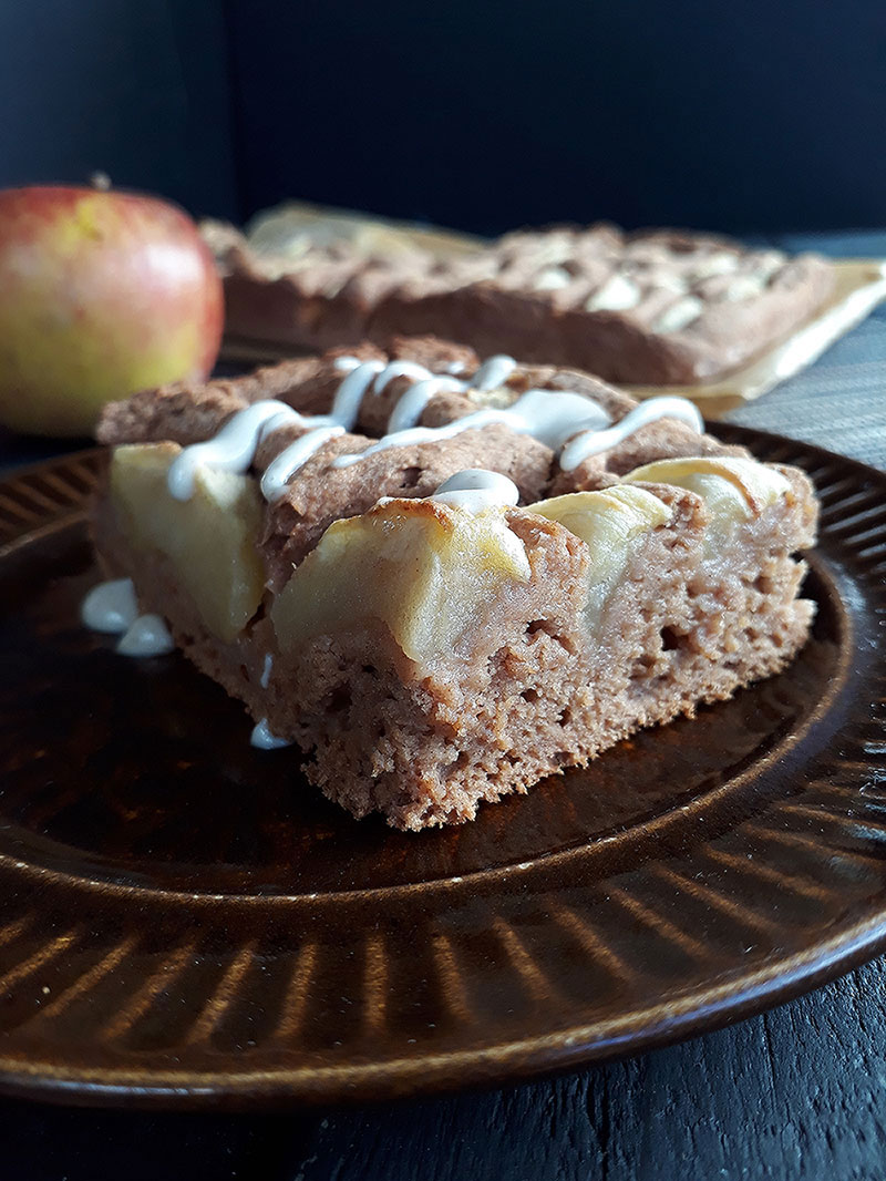 Apple Cake Vegan Gluten free 2