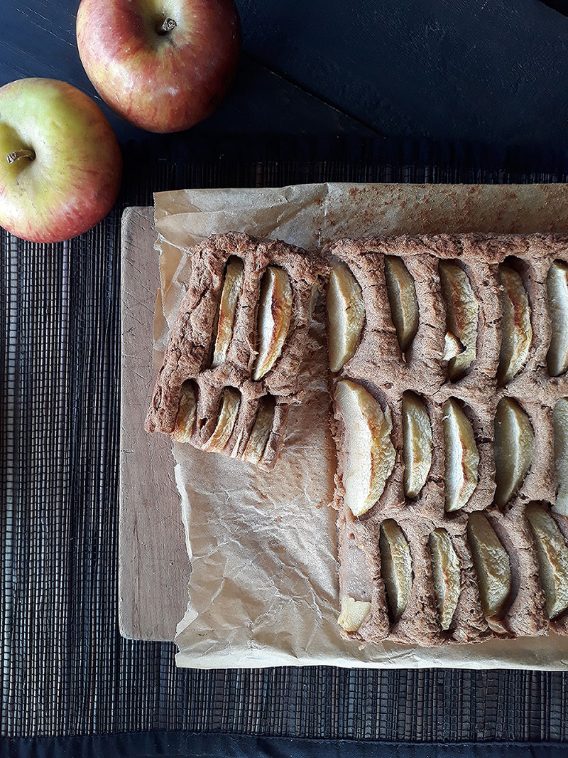 Apple Cake Vegan Gluten free