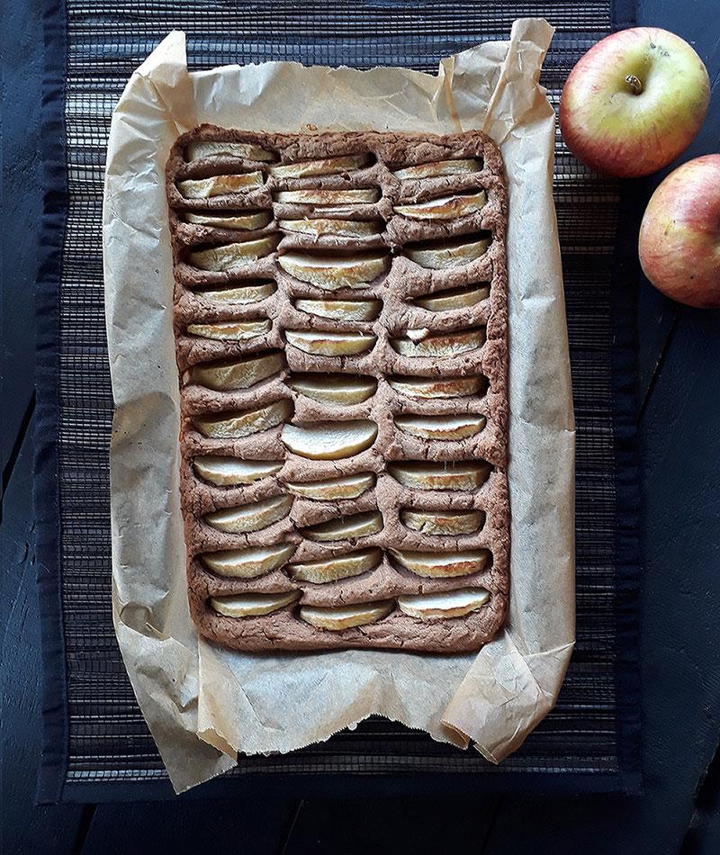 Veganer Glutenfreie Apfel Kuchen Rezept