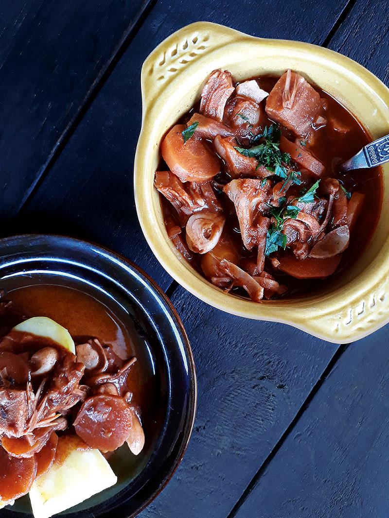 Jackfruit Gulasch Vegan Glutenfrei