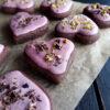 Vegane Glutenfreie Pink Chai Schoko Cookies Rezept