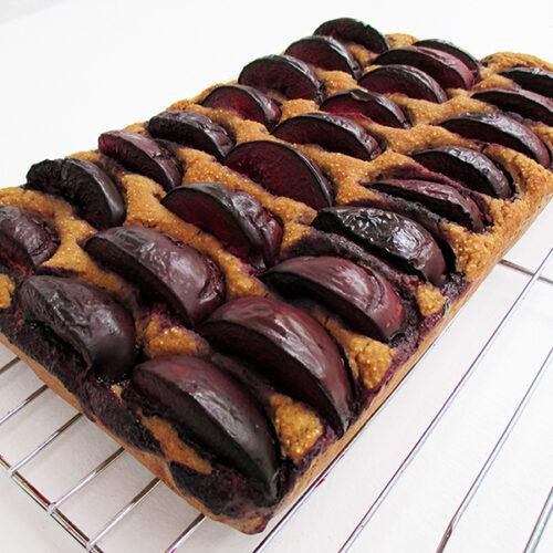 Vegan Glutenfrei Pflaumen Kuchen Schnitten Rezept 3
