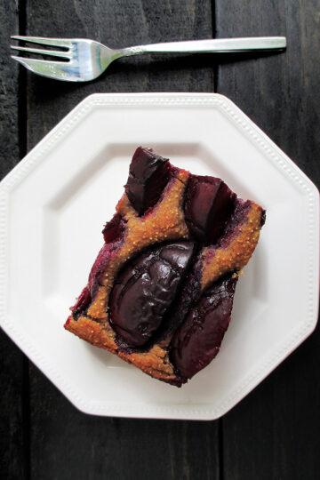 Vegan Glutenfrei Pflaumen Kuchen Schnitten Rezept 4