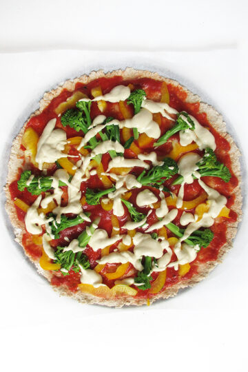 Vegane Glutenfreie Pizza Ohne Hefe Rezept 1