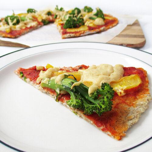 Vegane Glutenfreie Pizza Ohne Hefe Rezept 3
