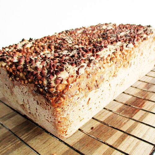 Veganes Glutenfreies Knusper Buchweizen Brot Rezept 2
