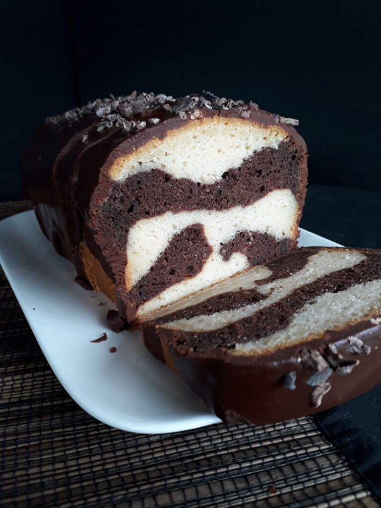 Schoko Vanille Kuchen Vegan Glutenfrei