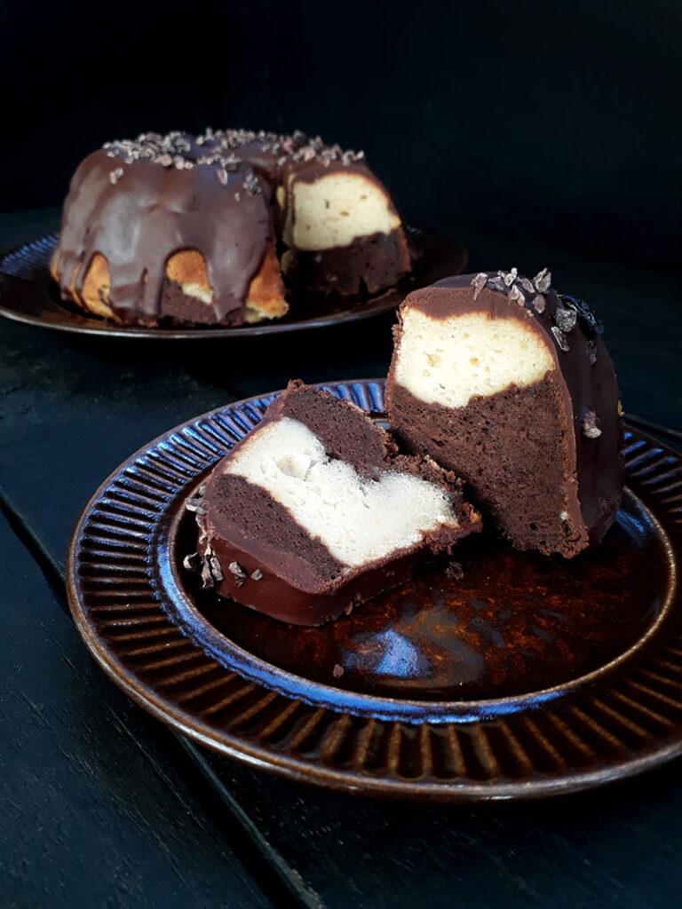 Vegan Gluten-free Marble Cake Recipe