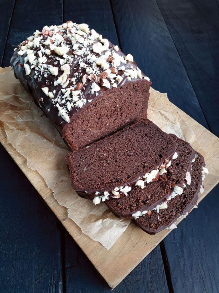 Hazelnut Chocolate Loaf Vegan Gluten-free