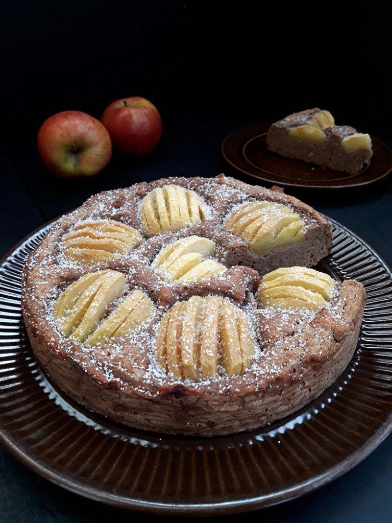 Apple Cake Vegan Gluten-free Fruit-sweetened