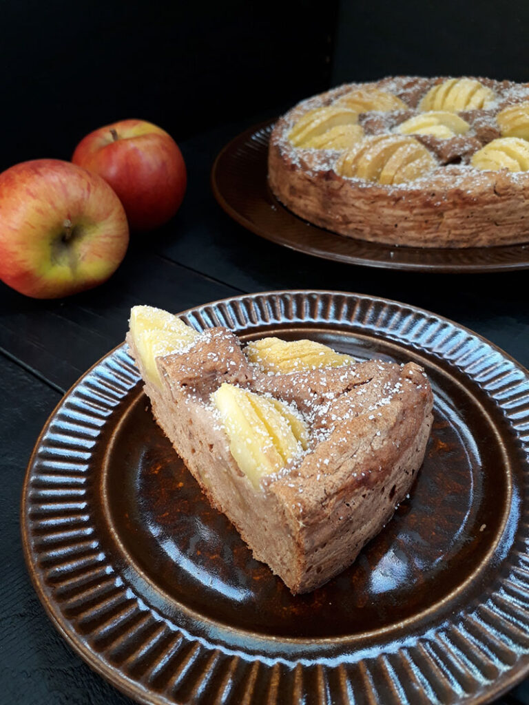 Apple Cake Vegan Gluten-free Oil-free Recipe