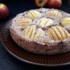 Versunkener Apfelkuchen Vegan Glutenfrei Rezept 2