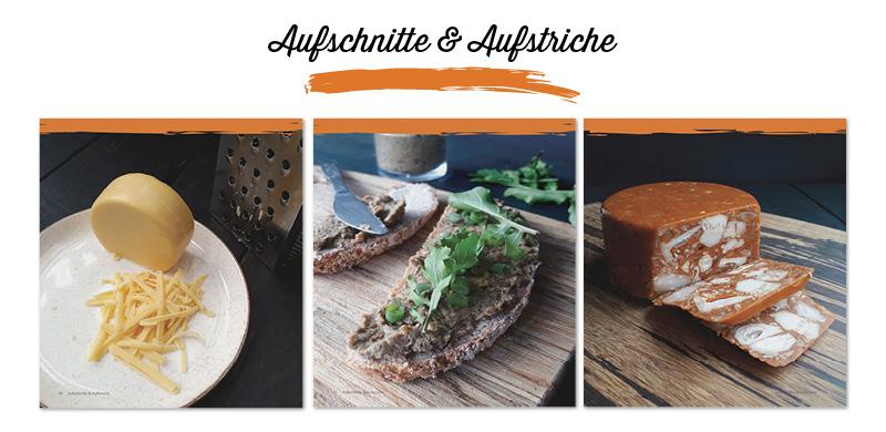 Herzhaftes für Alle Vegan Glutenfrei Kochbuch - Aufschnitte und Aufstriche