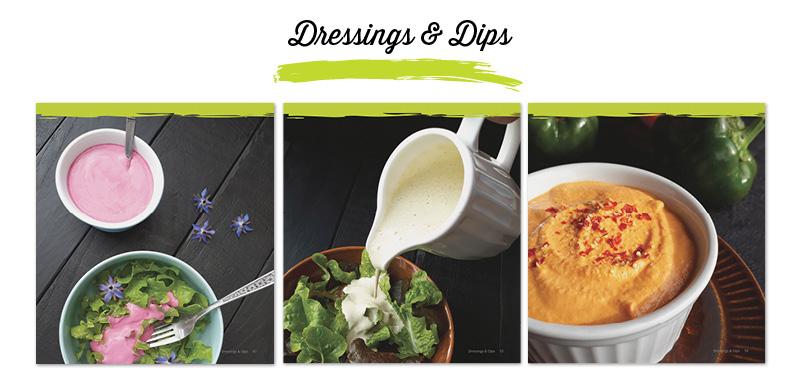 Herzhaftes für Alle Vegan Glutenfrei Kochbuch - Dips und Dressings