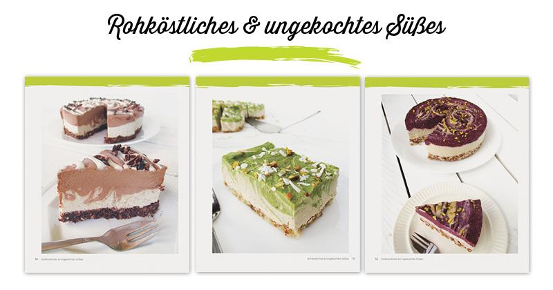 Süßes für Alle Vegan Glutenfrei Kochbuch Rohkost